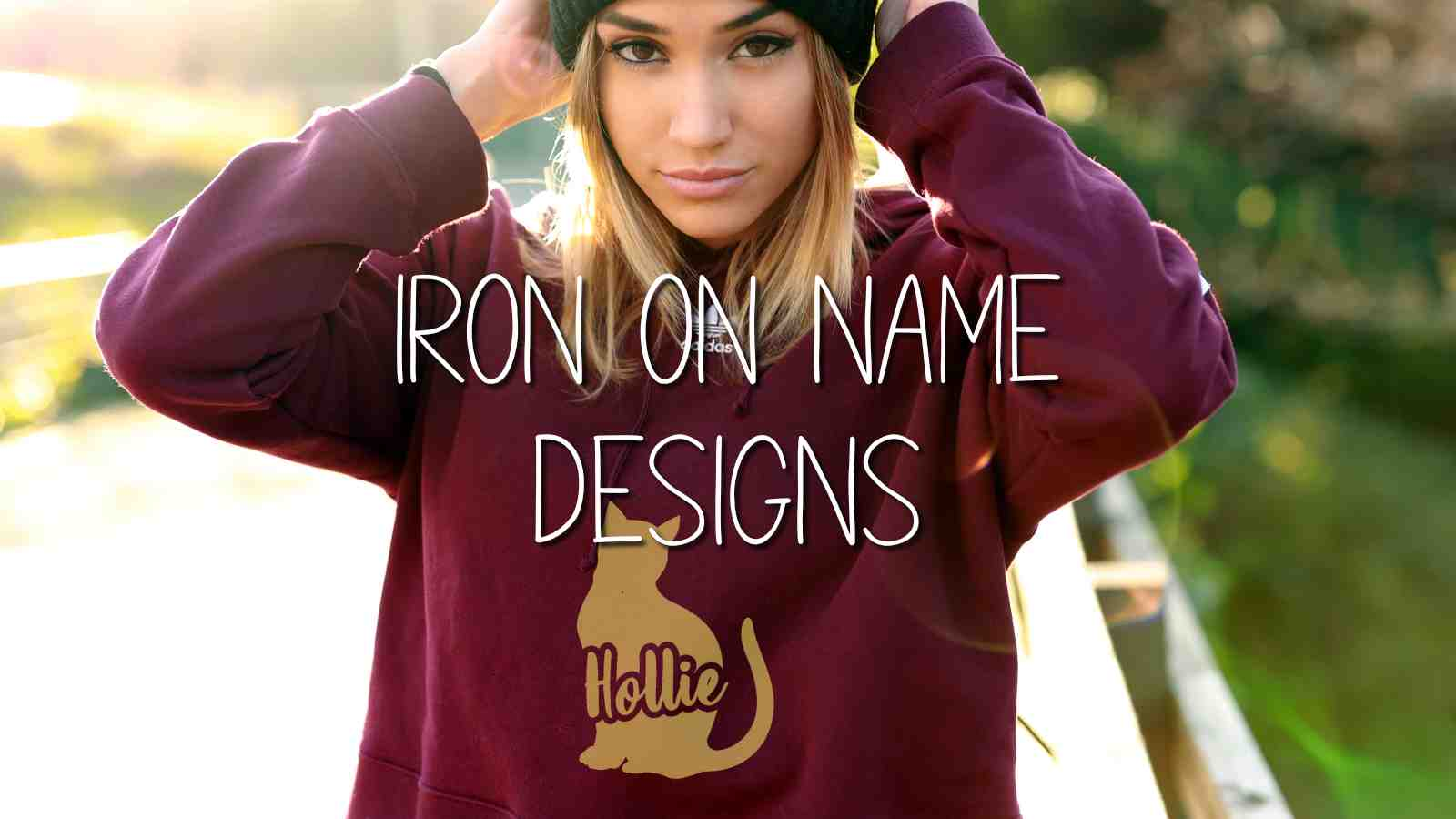 Iron on Name Designs - Ready to Personalise and Iron On